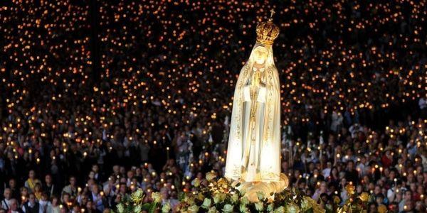 A spiritual moment in Fatima